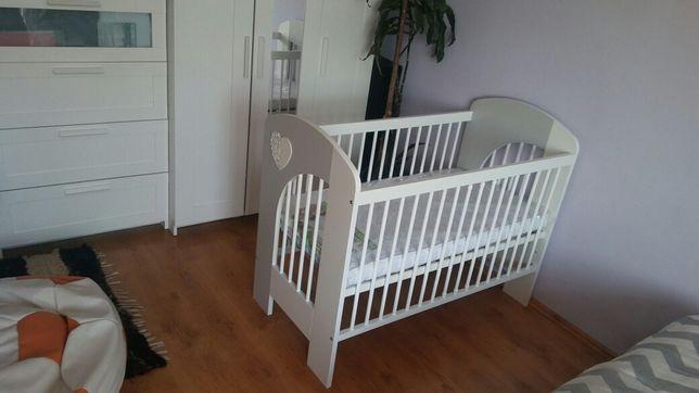 Sprzedam łóżeczko dziecięce z materacem