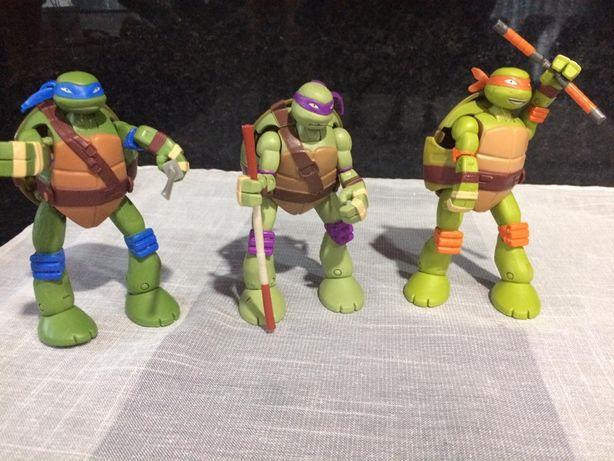 3 tartarugas ninjas transformer