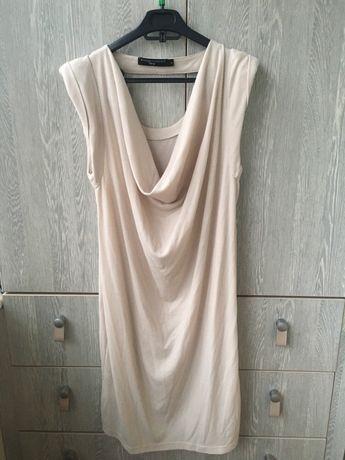 Платье туника трикотаж L
