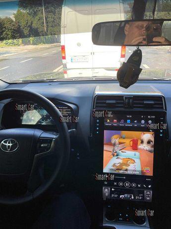 Магнитола Штатная Головное Устройство Tesla Style Toyota Prado 150