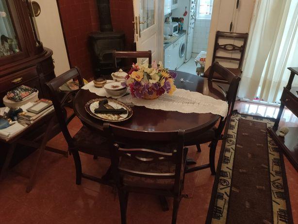 Vendo mobília de sala antiga
