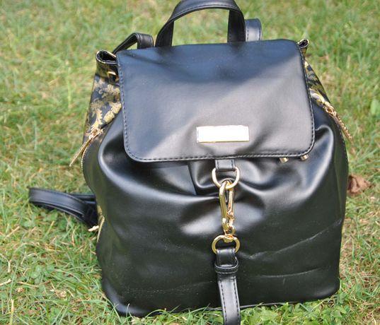 Plecak Versace złote okucia
