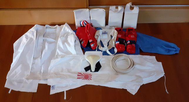 Equipamento artes marciais