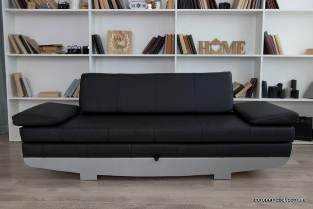 Новый кожаный раскладной диван кровать