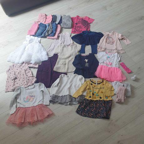 Ubranka dla dziewczynki 86 paka