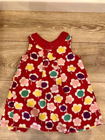 Вельветовое платье, сарафан lc waikiki 24-36м