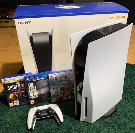 PlayStation 5, zestaw z 3 grami!