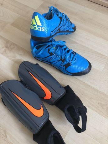 Adidas rozm.32/33 ochraniacze Nike