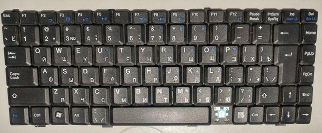 Клавиатура mp-06836su-359 Fujitsu Li1705,V2030,V3515 MSI S250,S310