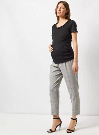 Materiałowe spodnie ciążowe Dorothy Perkins