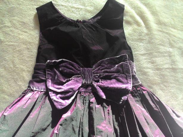 Elegancka sukienka na Święta, ślub rozm 104 (4 -5 lat) JAK NOWA