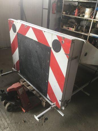 Tablica anlaga WVZ BF3 pilot gabaryty schweretransporte obsługa drogów