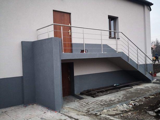 Balustrady ze stali nierdzewnej Balkonowe Schodowe najtaniej