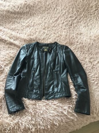 Stradivarius кожанная куртка