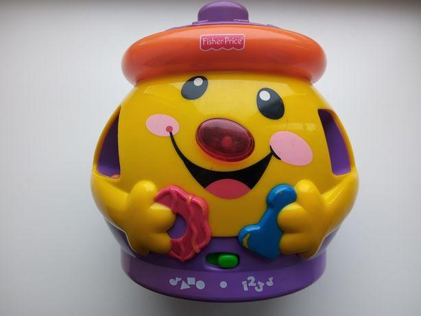 Музыкальный горшочек Fisher Price  Интерактивная игрушка