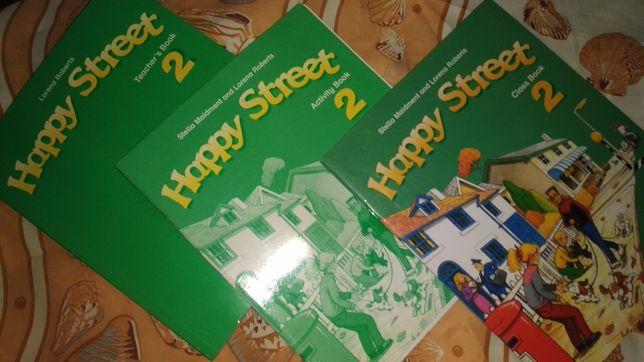 Новые Рабочие тетради по английскому Happy Street 2. Oxford