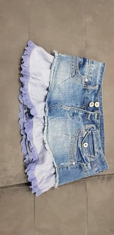 Юбка  джинсова..