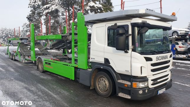 Scania P410 Euro6 Kassbohrer Variotrans Supertrans  Autotransporter