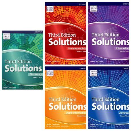 Друк книг SOLUTIONS (3d edition)