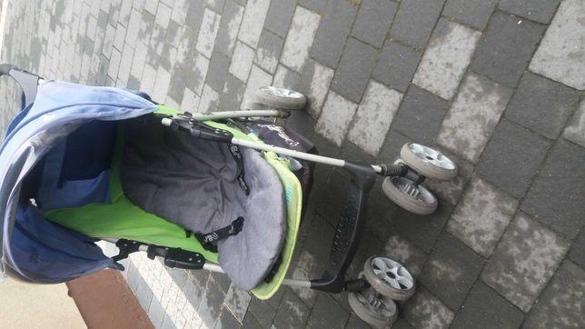 Wózek spacerowy, parasolka