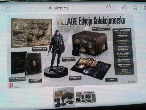 Resident evil village edycja kolekcjonerska PS4/PS5