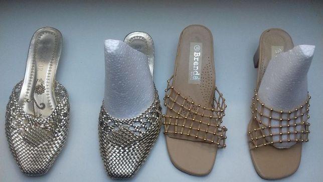 Buty, klapki nowe i prawie nowe r.38