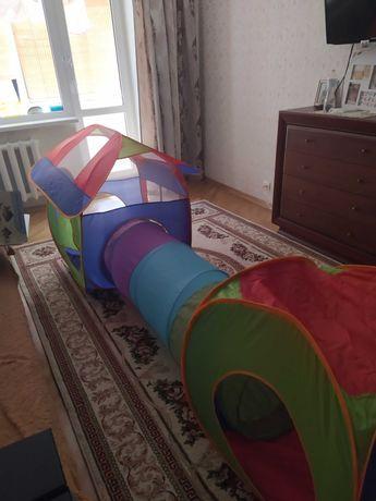 Палатка детская с тоннелем