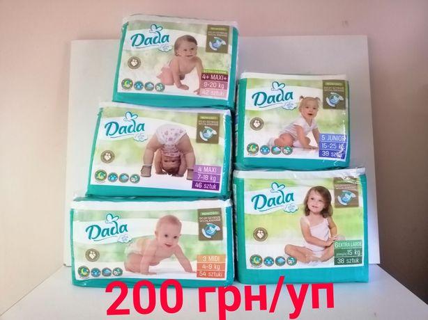 Новые подгузники Dada Extra Soft New Памперсы Дада Софт Премиум Кеа