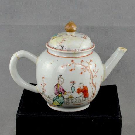 Bule Companhia das Índias em Porcelana da China, séc. XVIII