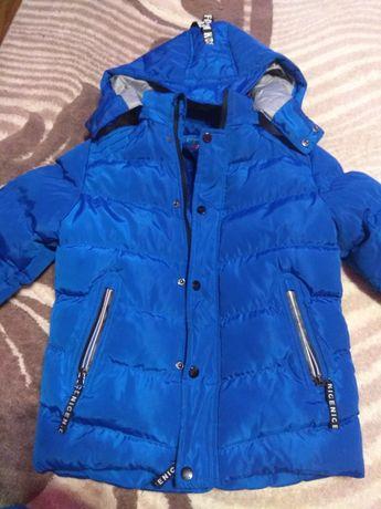 Курточка шикарная зимняя мальчиковая