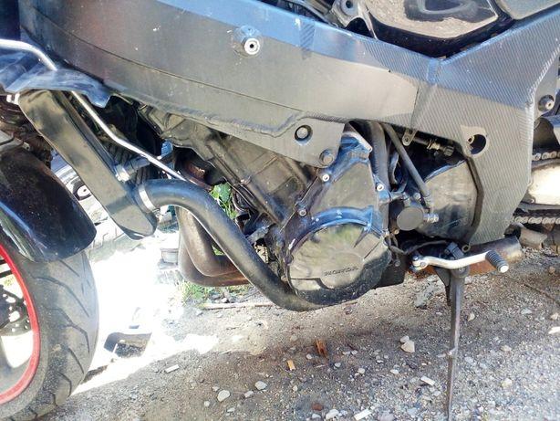 honda cbr 1100xx silnik SWAP z elektryką, gaźnikami, chłodnicą komplet