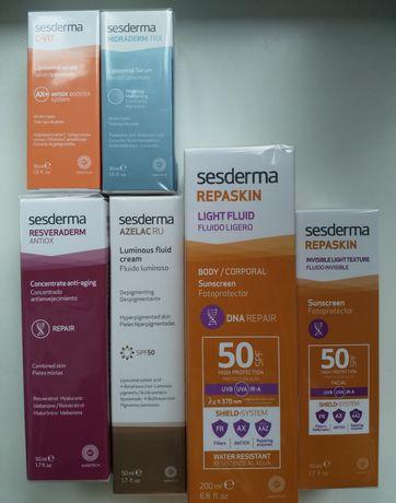 Sesderma SPF 50 солнцезащитный крем
