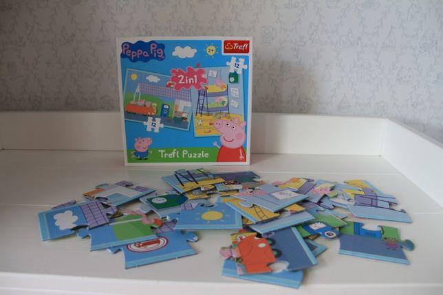 Peppa Pig Puzzle dla najmłodszych