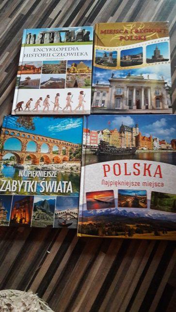Książki encyklopedia człowieka polska i zabytki swiata
