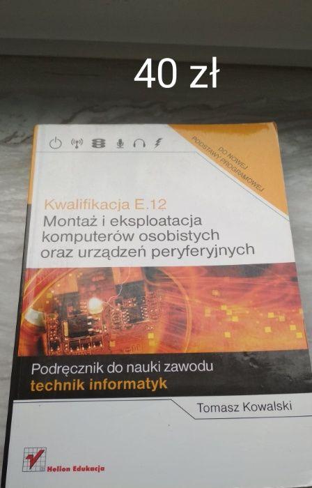 Kwalifikacja E.12 montaż i eksploatacja komputerów osobistych Marki - image 1