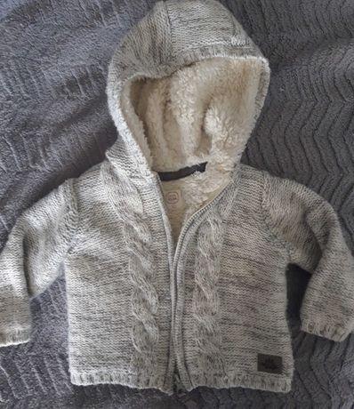 Sweter ocieplany/kurtka Cool Club r.80