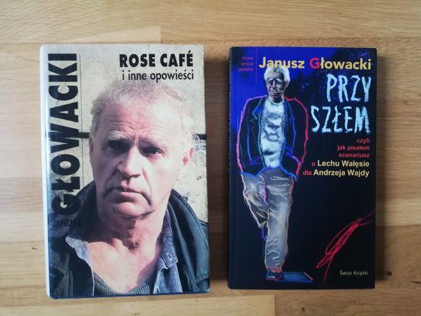 Komplet książek. Janusz Głowacki: Rose Cafe, Przyszłem