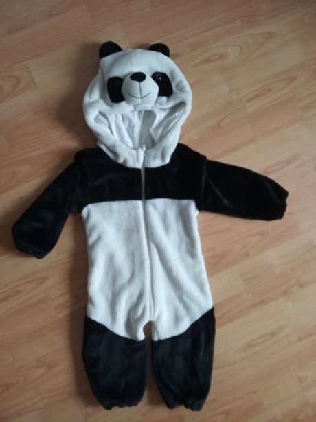 Костюм панда акула