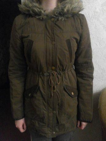 Куртка-парка на тёплую зиму, весна-осень