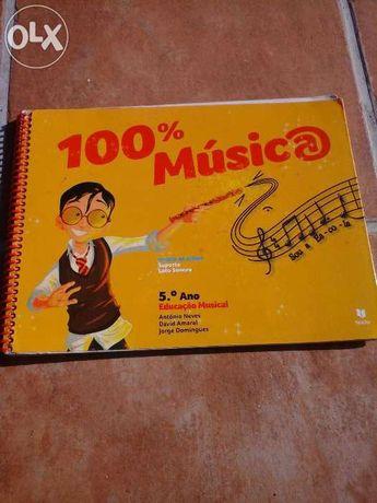 Livro 100% Música 5°ano