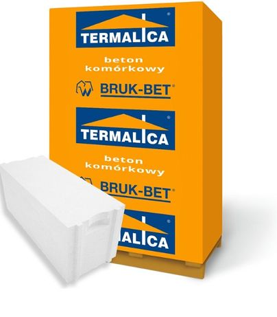 Termalica PUSTAK Gazobeton Beton Komórkowy 24x25x60 P+W kl.500 +HDS