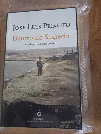 """Livro José Luís Peixoto """"Dentro do Segredo"""""""