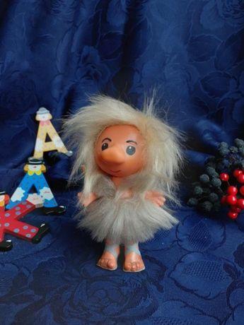 VEB Famos Leipzig кукла чудик пещерный первобытный человек пупс винтаж