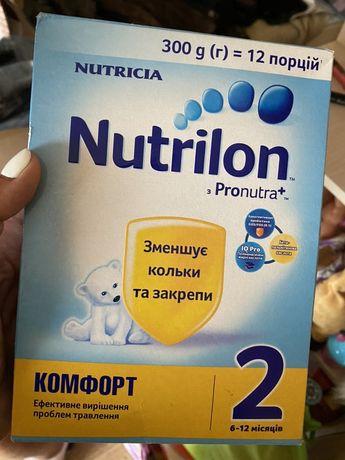 Продам смесь Nutrilon pronutra 2