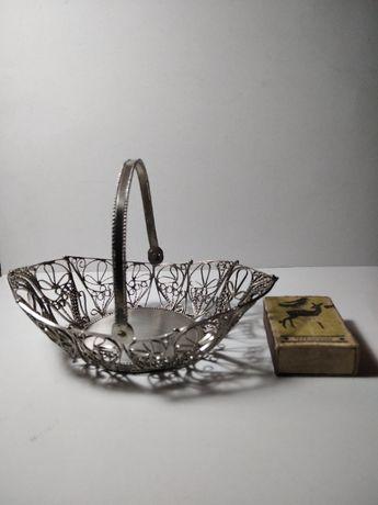 Сувенирная ваза-конфетница. Скань.