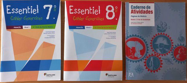 Cadernos de atividades - 7º e 8º anos de escolaridade