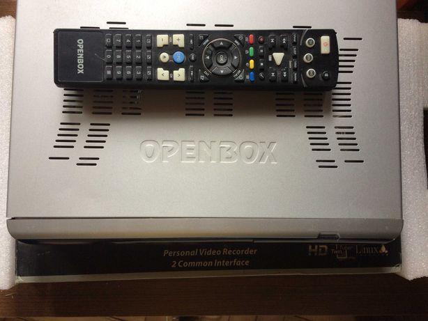 Спутниковый тюнер Openbox S7 HD PVR, 2 тюнера, запись на флешку, обмен