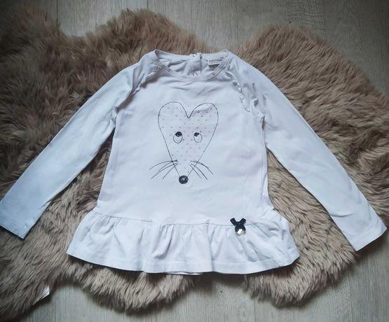 Biała bluzka Cocodrillo 110