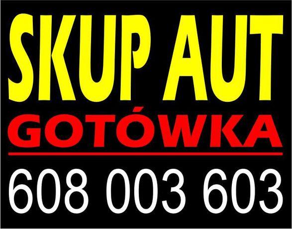 SKUP AUT - auto skup, skup samochodów za GOTÓWKĘ - NAJLEPSZE ceny