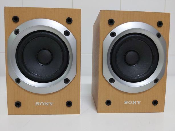 Colunas compactas Sony 60 Watts